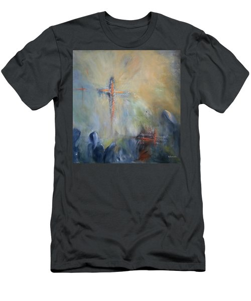 The Light Of Christ Men's T-Shirt (Athletic Fit)