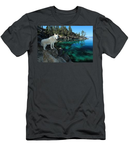The Light Of Lake Tahoe Men's T-Shirt (Athletic Fit)