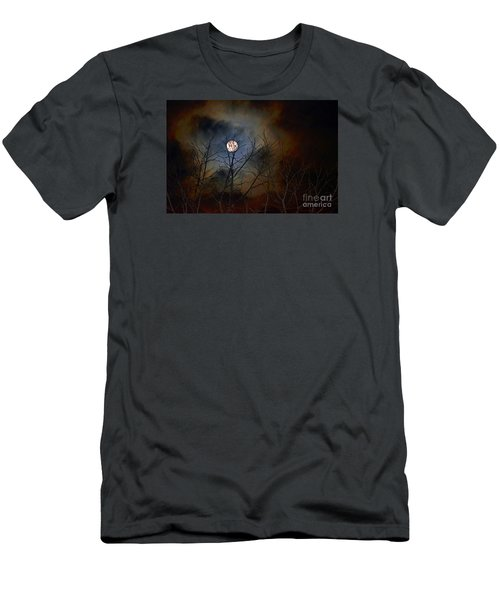 The Light Of The Moon Men's T-Shirt (Slim Fit) by Lila Fisher-Wenzel
