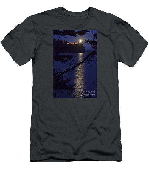 Men's T-Shirt (Slim Fit) featuring the photograph The Light Shines Through by Larry Ricker