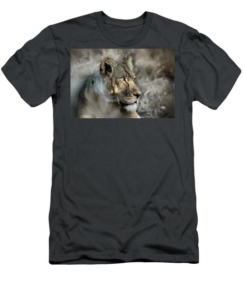 The Lioness  Men's T-Shirt (Athletic Fit)
