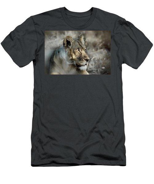 The Lioness  Men's T-Shirt (Athletic Fit)