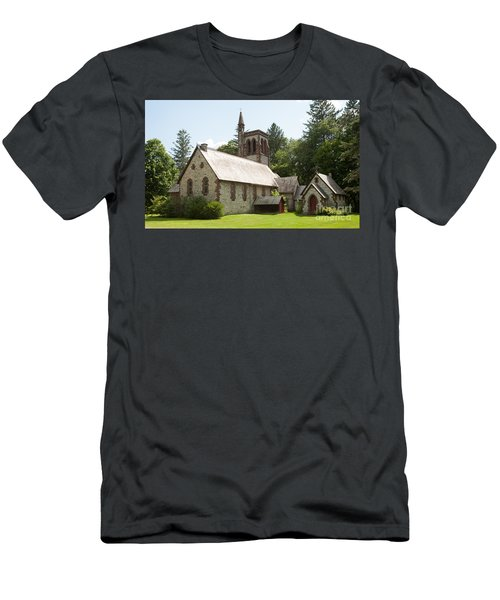 The Little Brown Church In The Vale Men's T-Shirt (Athletic Fit)