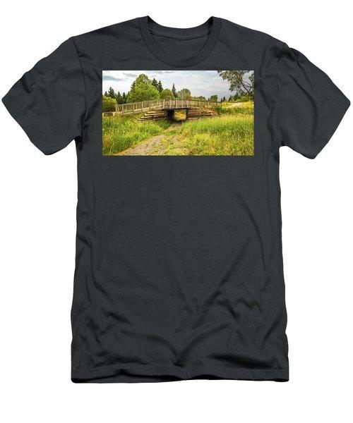 The Little Wooden Bridge Men's T-Shirt (Athletic Fit)