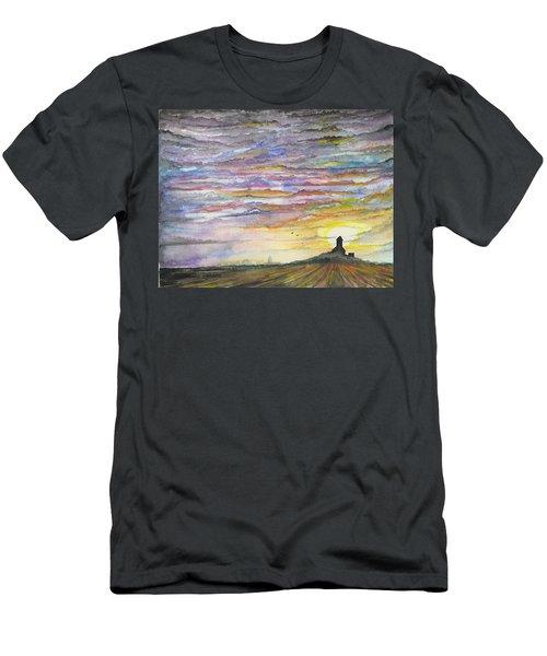 The Living Sky Men's T-Shirt (Athletic Fit)