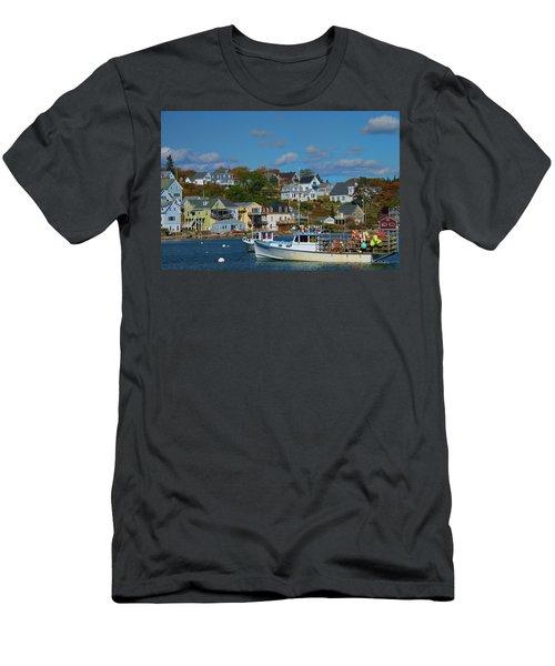 The Lobsterman's Shop Men's T-Shirt (Athletic Fit)