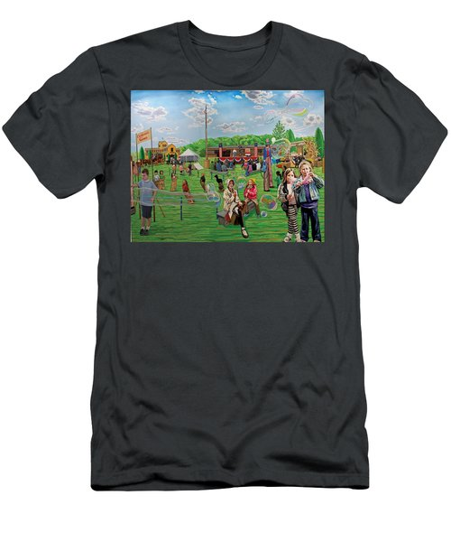The Long Island Fair At Old Bethpage Restoration Men's T-Shirt (Athletic Fit)