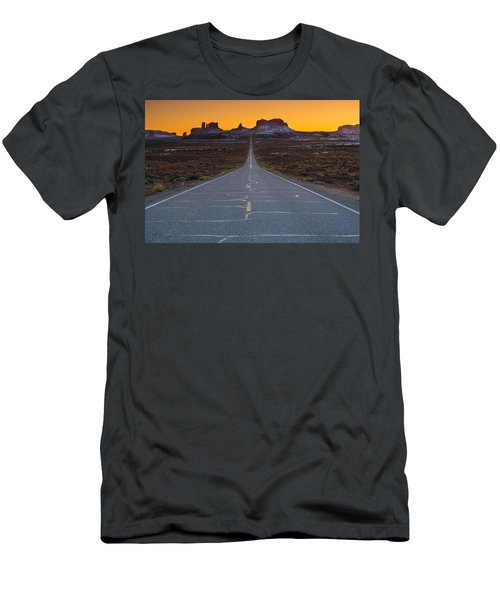 The Long Road To Monument Valley Men's T-Shirt (Athletic Fit)
