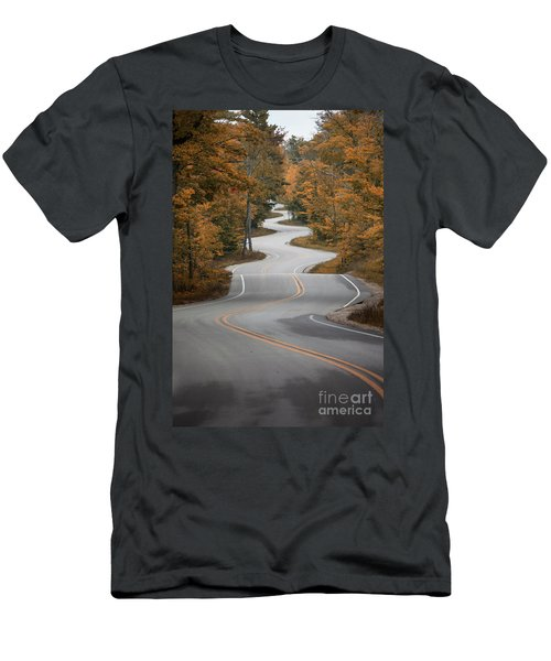 The Long Winding Road Men's T-Shirt (Athletic Fit)