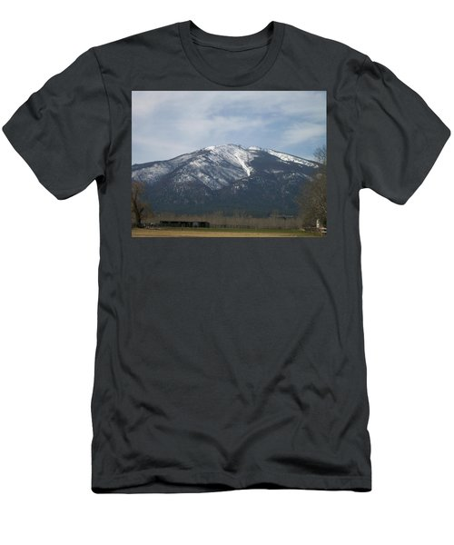 The Longshed Men's T-Shirt (Slim Fit) by Jewel Hengen