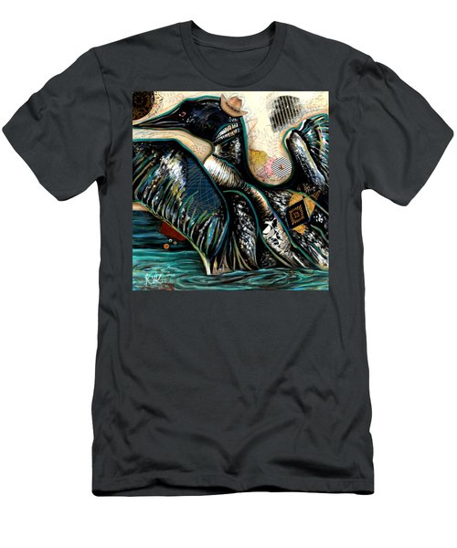 The Loon Men's T-Shirt (Athletic Fit)