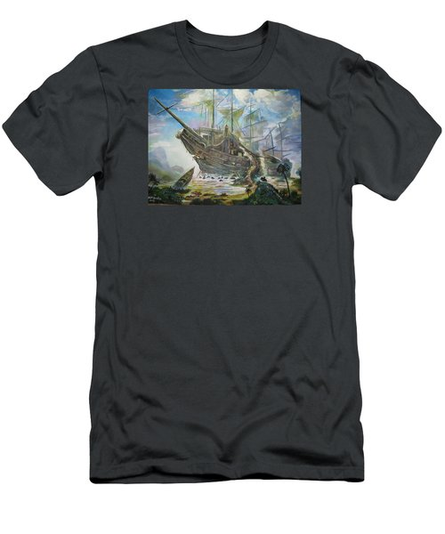 The Lost Ship Men's T-Shirt (Athletic Fit)