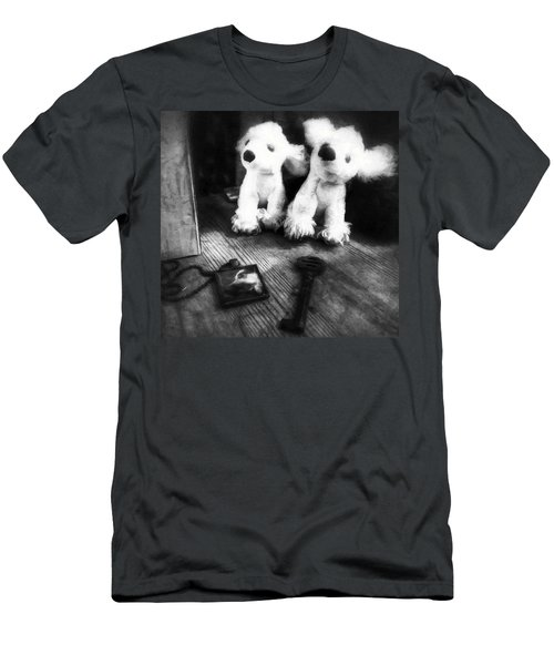 The Love Of A Dog Men's T-Shirt (Athletic Fit)