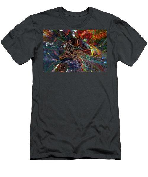 The Lucid Planet Men's T-Shirt (Slim Fit) by Richard Thomas