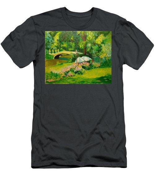 The Magnificent Bow Bridge Men's T-Shirt (Athletic Fit)