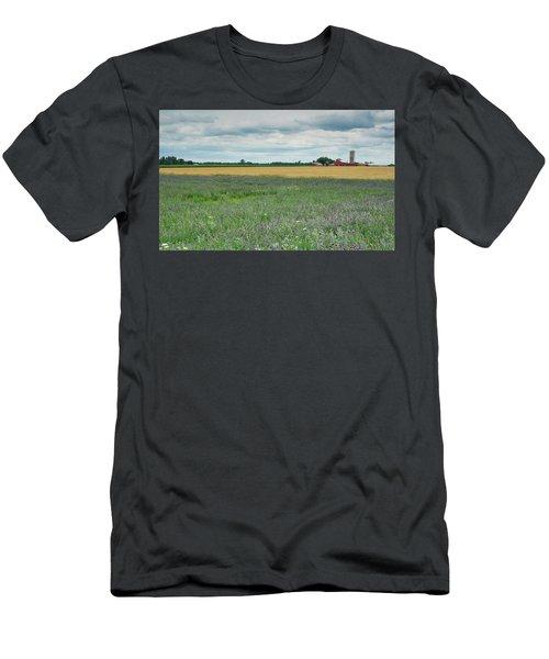 Farming Landscape Men's T-Shirt (Athletic Fit)