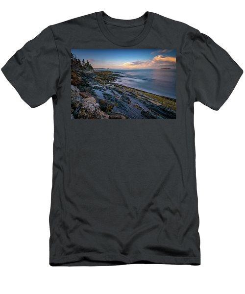 The Maine Coast Men's T-Shirt (Athletic Fit)