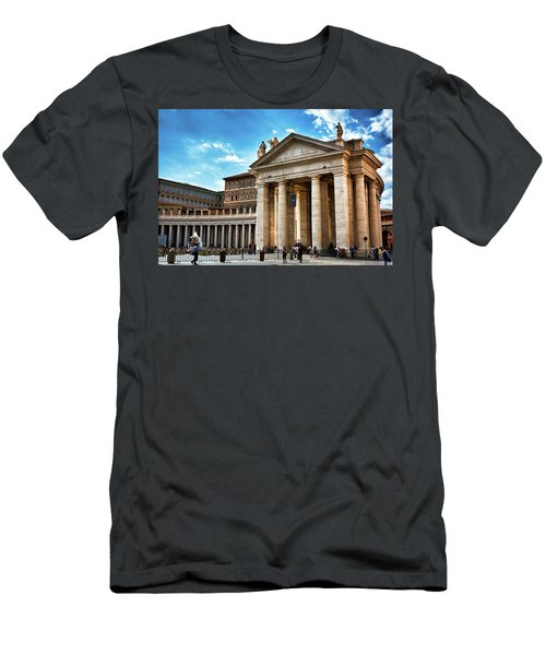 The Majesty Of The Tuscan Colonnades Men's T-Shirt (Athletic Fit)