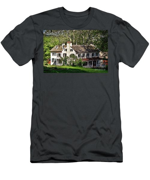 The Mansion At Hopewell Furnace Men's T-Shirt (Athletic Fit)