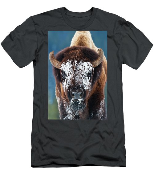 The Masked Bison Men's T-Shirt (Athletic Fit)