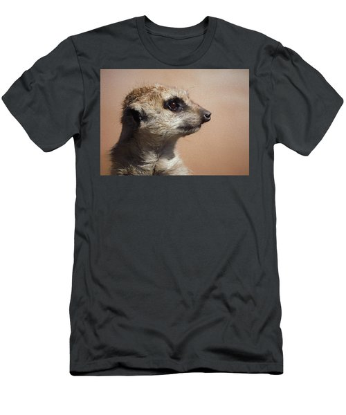 The Meerkat Da Men's T-Shirt (Slim Fit) by Ernie Echols
