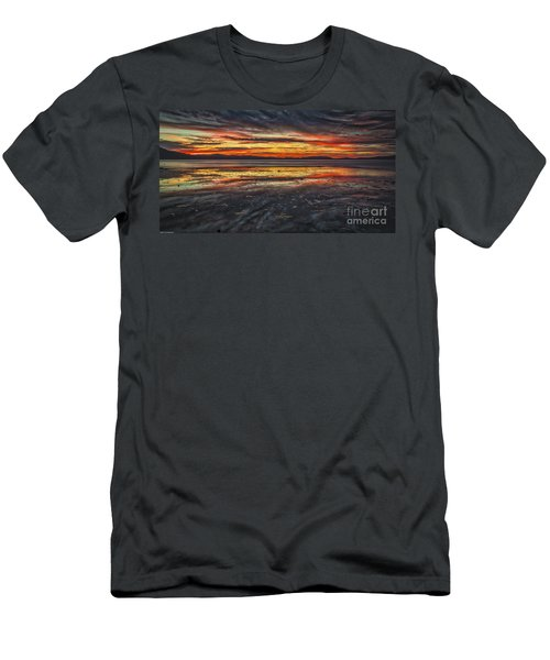 Men's T-Shirt (Slim Fit) featuring the photograph The Melting Pot by Mitch Shindelbower