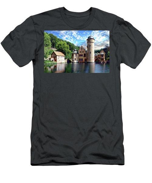 The Mespelbrunn Castle Men's T-Shirt (Athletic Fit)