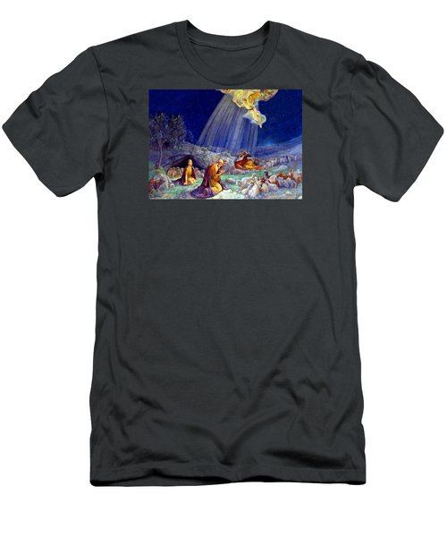 The Message To Shepherds Men's T-Shirt (Slim Fit) by Munir Alawi