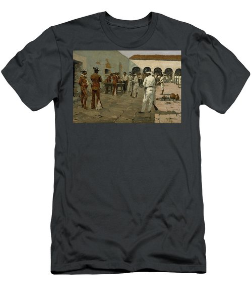 The Mier Expedition The Drawing Of The Black Bean  Men's T-Shirt (Athletic Fit)