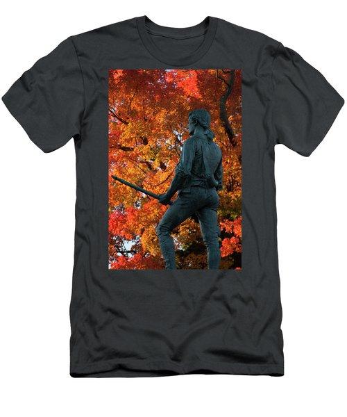 The Minutemen At Lexington Men's T-Shirt (Athletic Fit)
