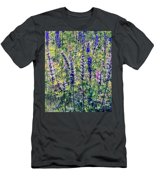 Men's T-Shirt (Slim Fit) featuring the photograph The Mix by Elfriede Fulda