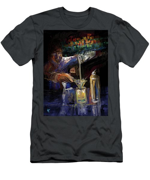 The Mixologist Men's T-Shirt (Athletic Fit)