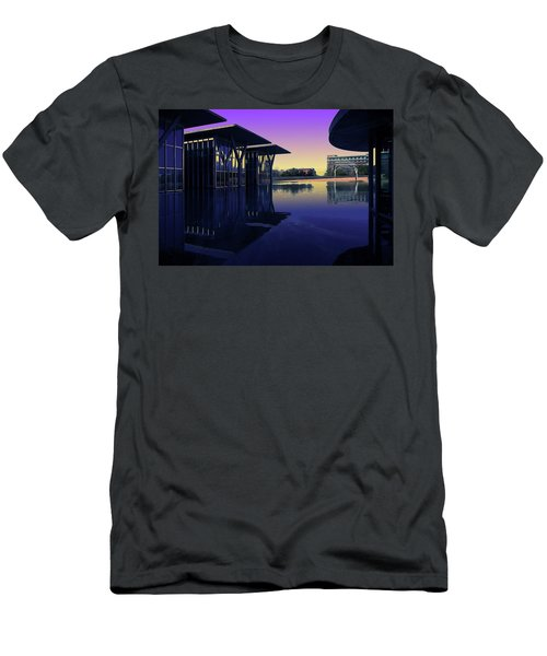 Men's T-Shirt (Slim Fit) featuring the photograph The Modern, Fort Worth, Tx by Ricardo J Ruiz de Porras