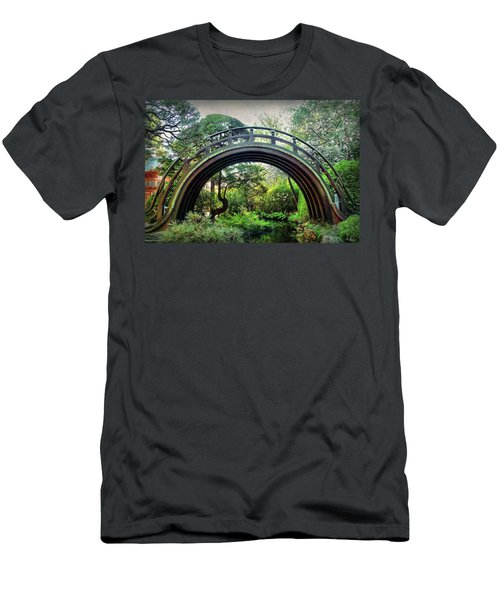 The Moon Bridge Men's T-Shirt (Athletic Fit)