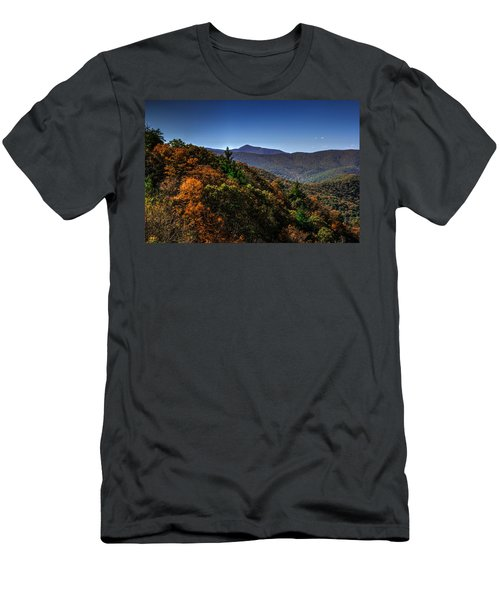 The Mountains Win Again Men's T-Shirt (Athletic Fit)