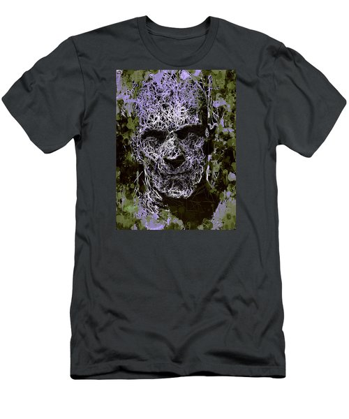 Men's T-Shirt (Athletic Fit) featuring the mixed media The Mummy by Al Matra