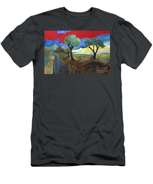 The New Road Men's T-Shirt (Athletic Fit)