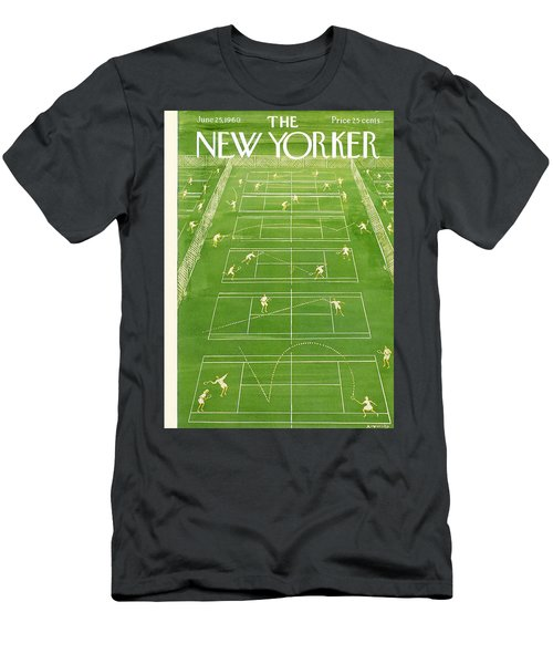 New Yorker Cover - June 25th, 1960 Men's T-Shirt (Athletic Fit)