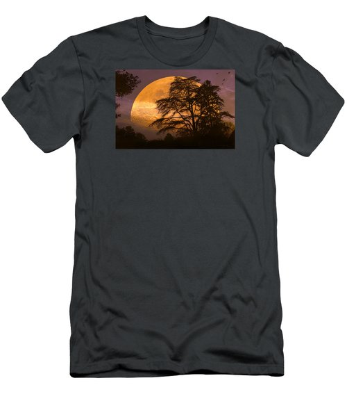 The Night Is Calling Men's T-Shirt (Slim Fit) by John Rivera