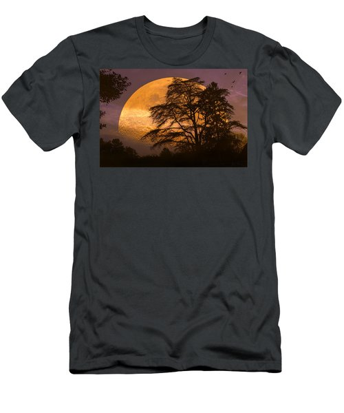 The Night Is Calling Men's T-Shirt (Athletic Fit)