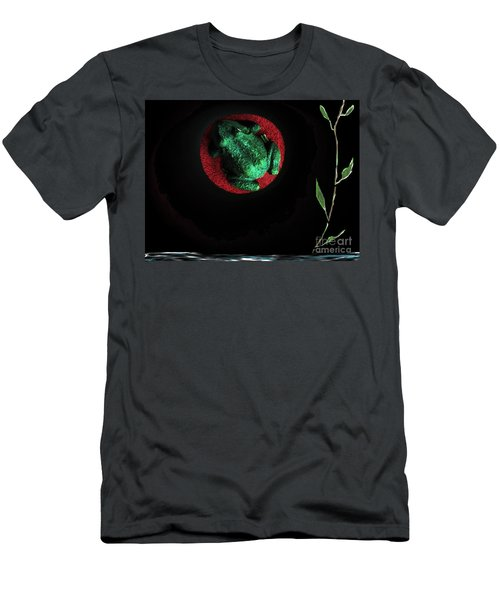 The Night Of The Frog Men's T-Shirt (Athletic Fit)