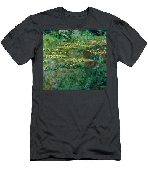 The Nympheas Basin Men's T-Shirt (Athletic Fit)