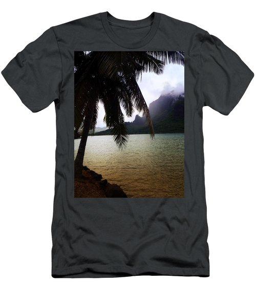 The Ocean In Moorea Men's T-Shirt (Athletic Fit)