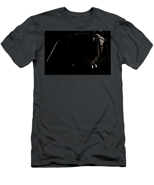 Men's T-Shirt (Slim Fit) featuring the photograph The Office Reflection by Paul Job