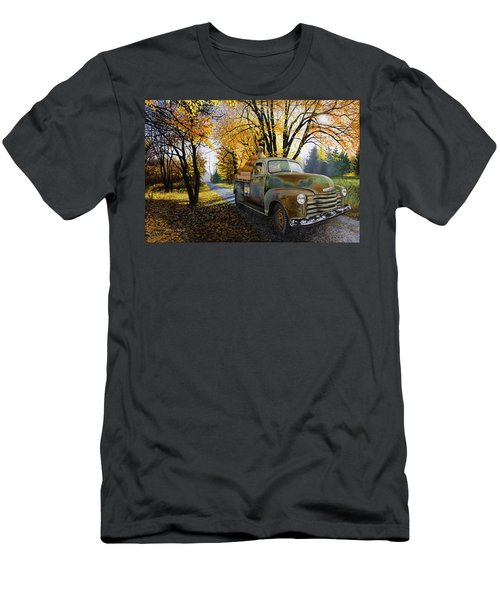 The Ol' Pumpkin Hauler Men's T-Shirt (Athletic Fit)