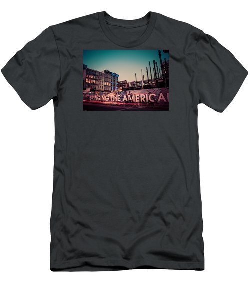 Men's T-Shirt (Athletic Fit) featuring the photograph The Old And The New by Mark Dodd