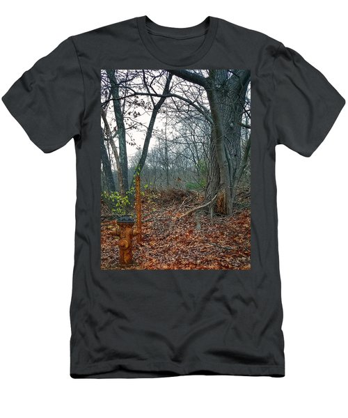 The Old Fire Hydrant Men's T-Shirt (Athletic Fit)