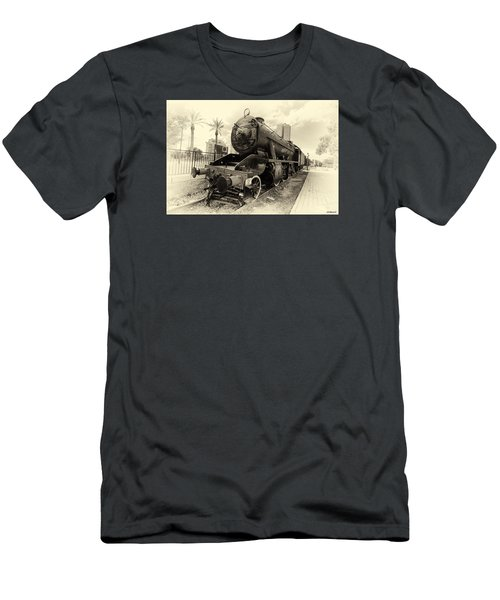 The Old Locomotive Men's T-Shirt (Athletic Fit)