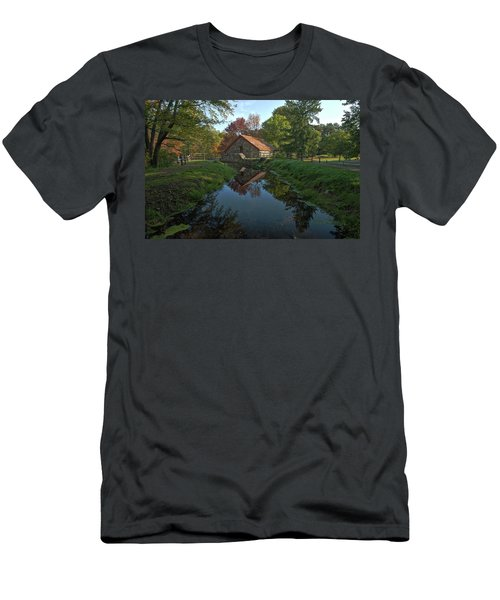 The Old Mill Men's T-Shirt (Slim Fit) by Stephen Flint