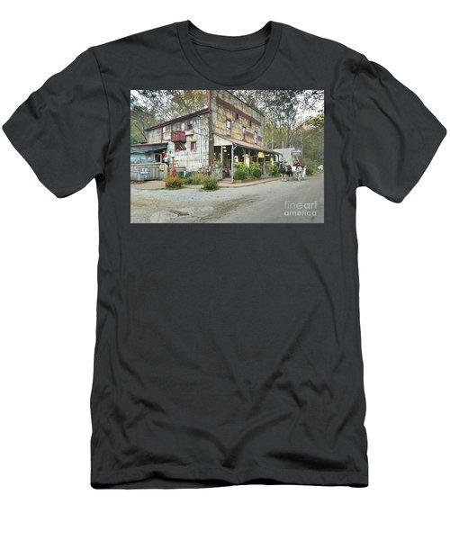 The Old Story Inn 1851 Nashville Indiana - Original Men's T-Shirt (Slim Fit) by Scott D Van Osdol